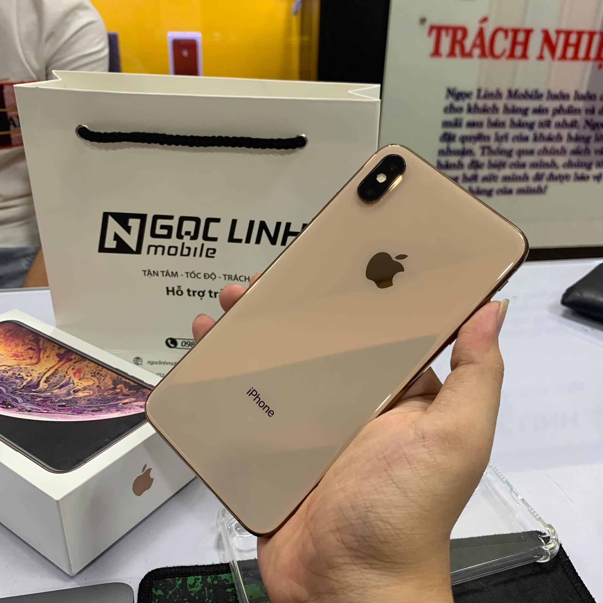 iPhone Xs Max iPhone Xs Max - iPhone Xs Max được bảo hành hãng tại Ngọc Linh Mobile
