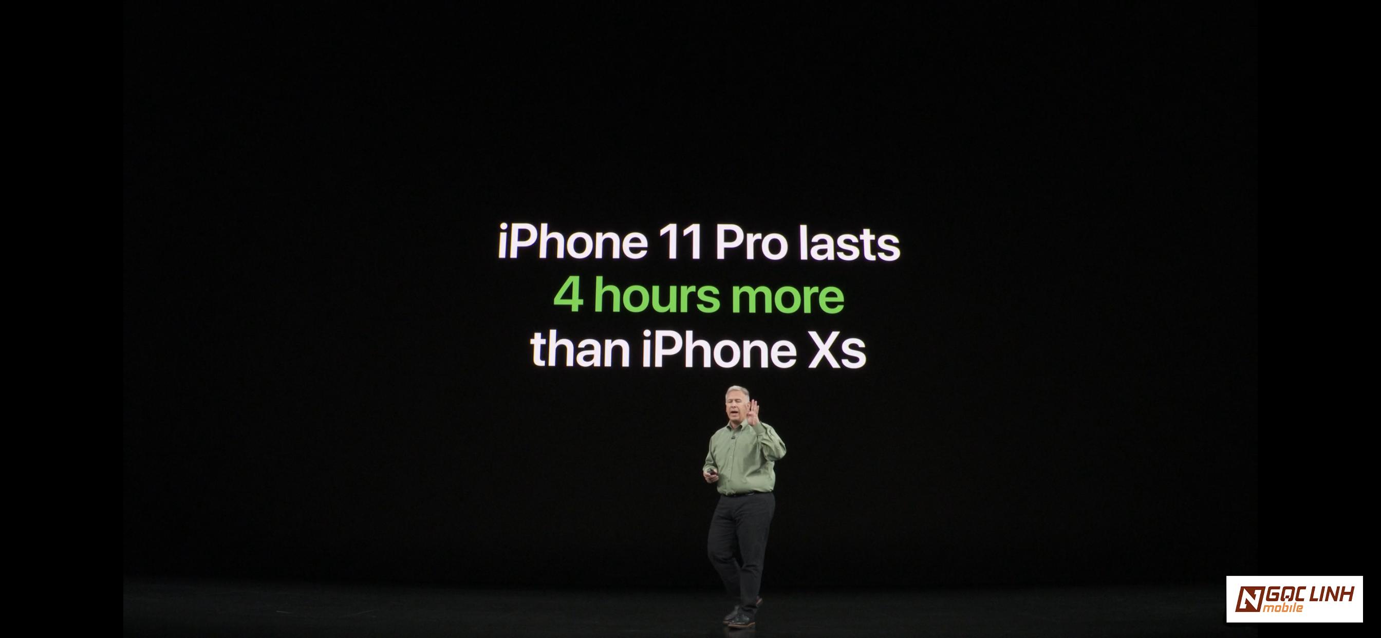 iPhone 11 iphone 11 - Pin trên bộ ba iPhone 11 khủng như thế nào