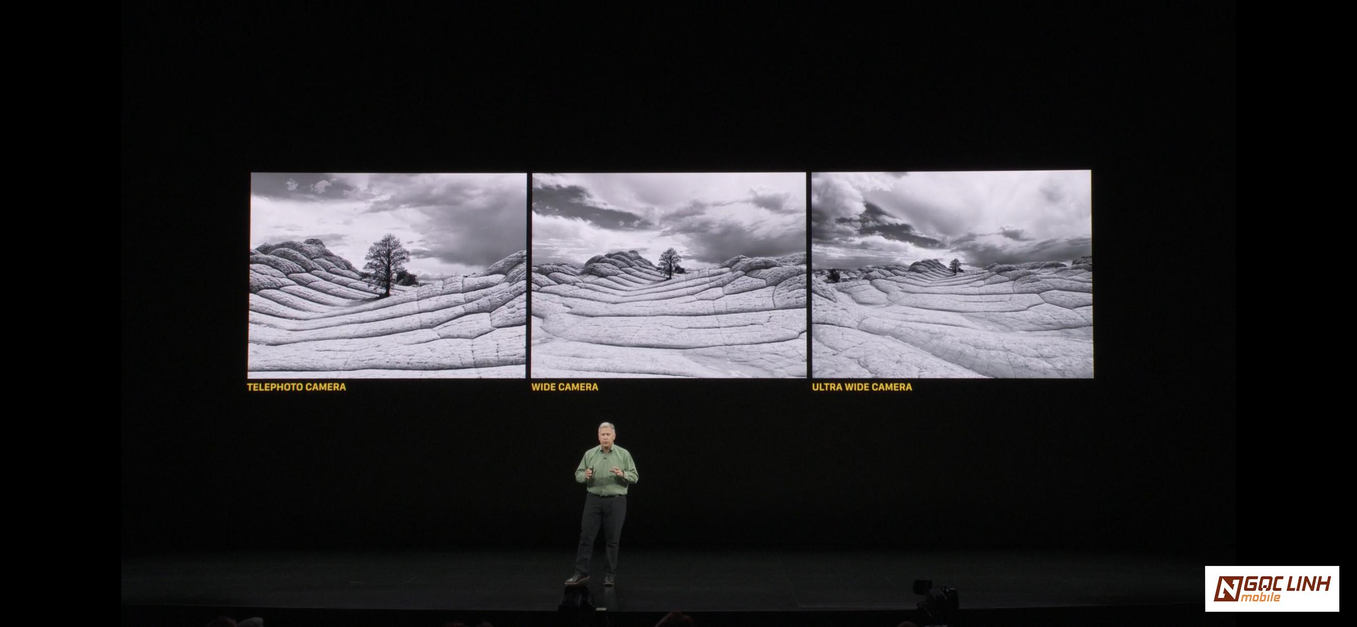 iPhone 11 iphone 11 - Triple camera của iPhone 11 Pro và Pro Max có gì đặc biệt