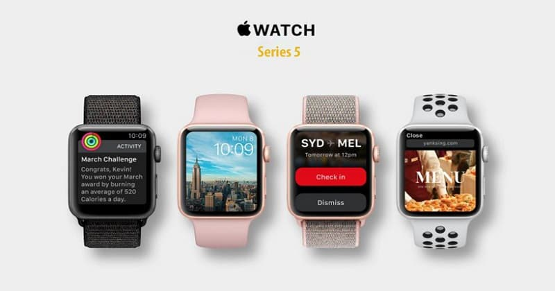 Apple Watch Series 5 apple watch series 5 - Apple Watch Series 5 có gì mới