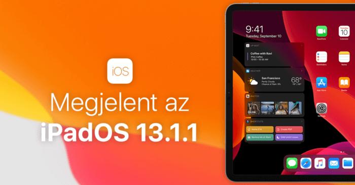 iPadOS 13.1.1