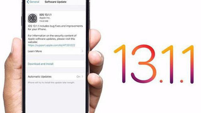 IOS 13.1.1 - Phiên bản cập nhật IOS 13.1.1 bất ngờ được Apple phát hành