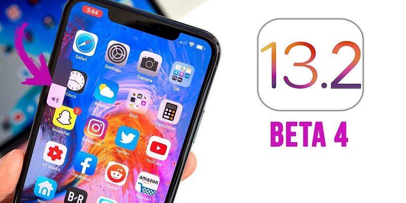 iOS/iPadOS 13.2 beta 4