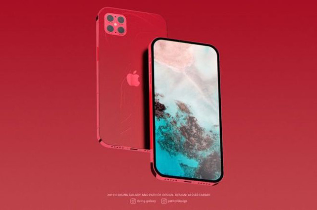 iPhone 12 - iPhone 12 sẽ loại bỏ cụm tai thỏ và có 4 camera mặt sau