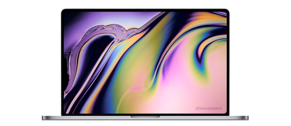 MacBook Pro 16 inch - Rò rỉ hình ảnh MacBook Pro 16 inch sắp ra mắt vào cuối năm