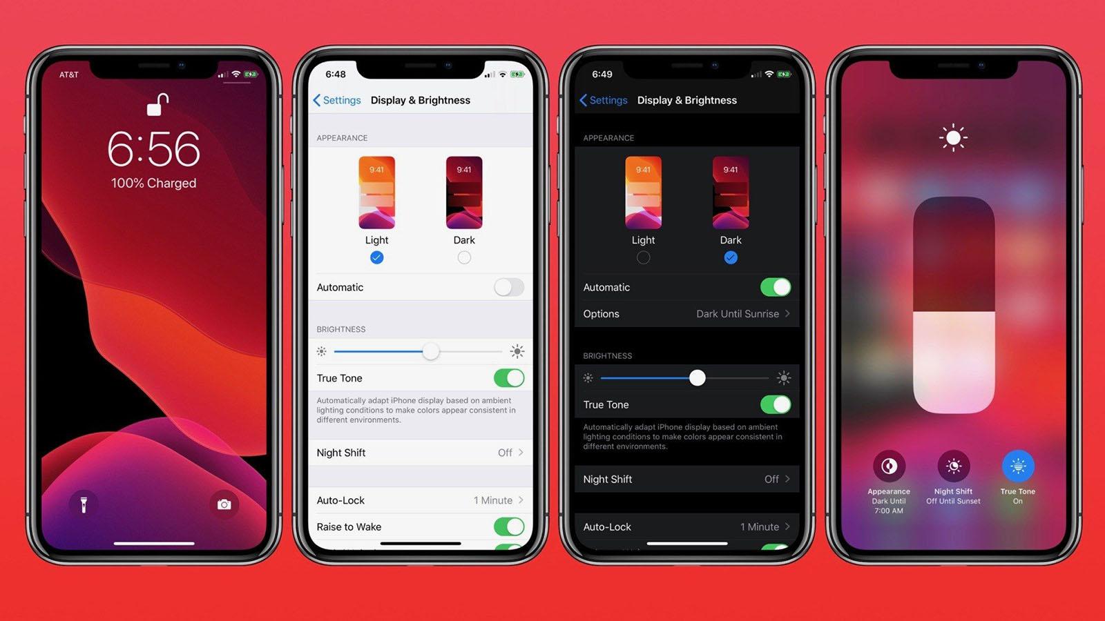 Dark Mode Dark Mode - Chế độ Dark Mode của iOS 13 giúp iPhone mới của bạn tiết kiệm pin hơn