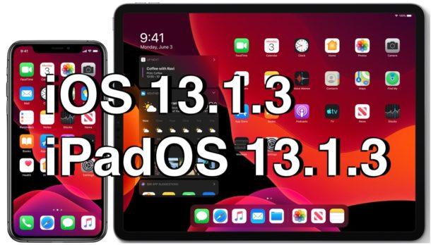 iOS 13.1.3 iOS 13.1.3 - Apple tung ra bản sửa lỗi iOS 13.1.3 cho iPhone
