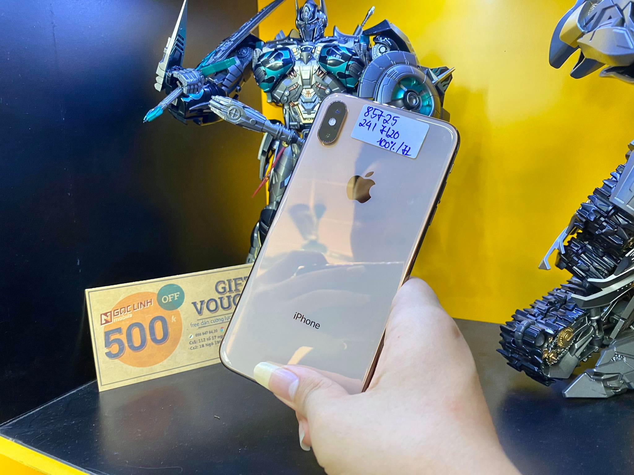 iPhone XS Max iPhone XS Max - Đừng bận tâm đến iPhone 11, hãy xem iPhone XS Max xuống giá thế nào