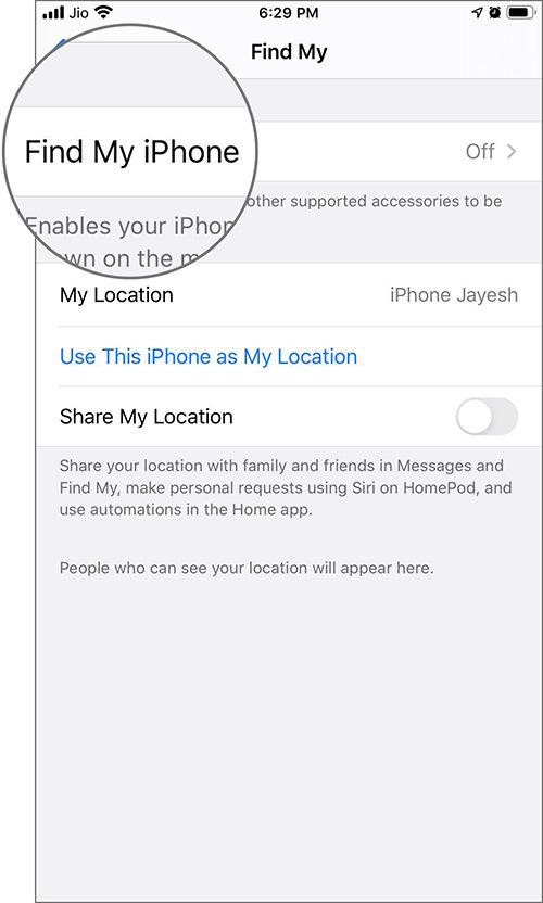 Find My - Làm thế nào để thêm hoặc xoá thiết bị khỏi ứng dụng Find My iPhone