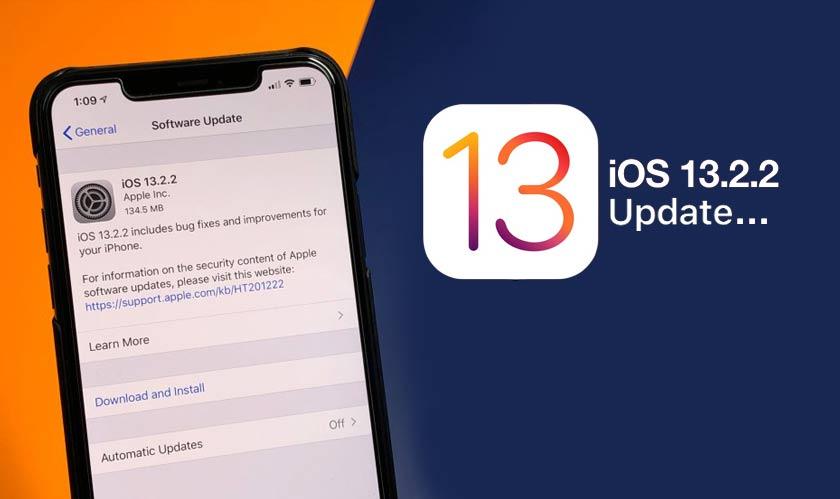 iOS 13.2.2 iOS 13.2.2 - iOS 13.2.2 – phiên bản sửa lỗi cho iOS 13