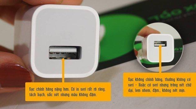 sạc cáp zin sạc cáp zin - Tại sao nên sử dụng sạc cáp zin cho iPhone?