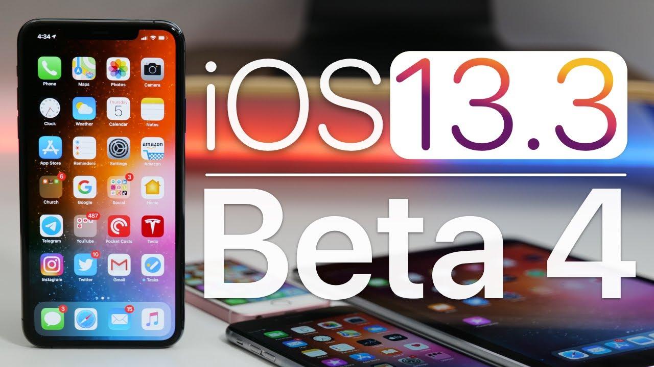 iOS 13.3 - iOS 13.3 tiếp tục sửa lỗi và thêm tính năng quản lý iPhone.