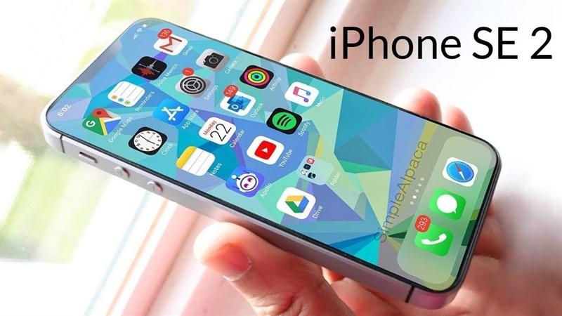 iPhone SE 2 iPhone SE 2 - Concept iPhone SE 2 cùng thiết kế ấn tượng gây đốn tim cho Fan Apple