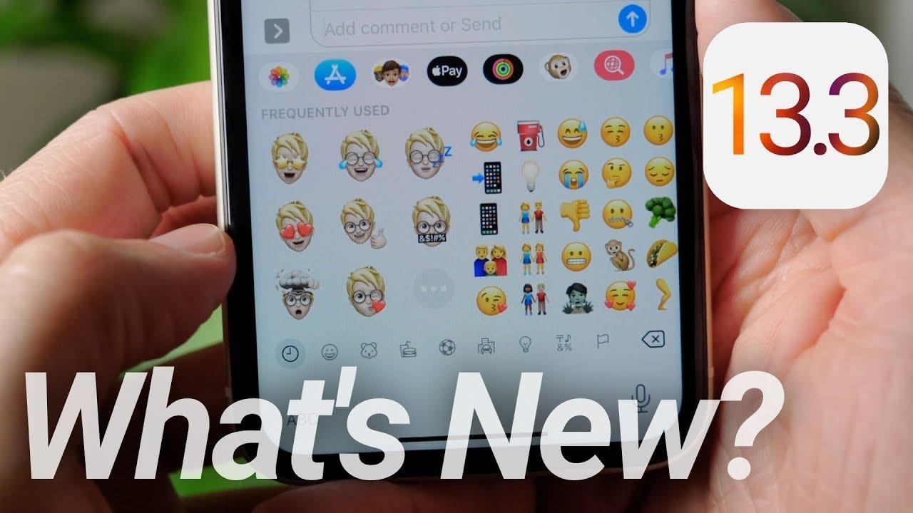 iOS 13.3 - Một số thao tác bạn cần làm trước khi cập nhật lên iOS 13.3