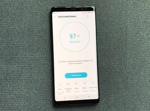 Hiệu suất Galaxy Note 8