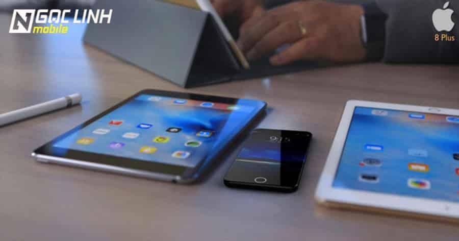 Bản concept đẹp mắt của iPhone 8 Plus