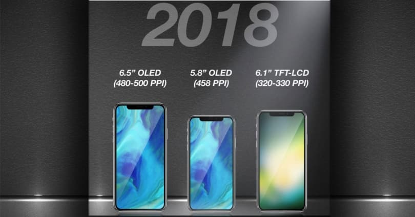 tên iPhone 2018