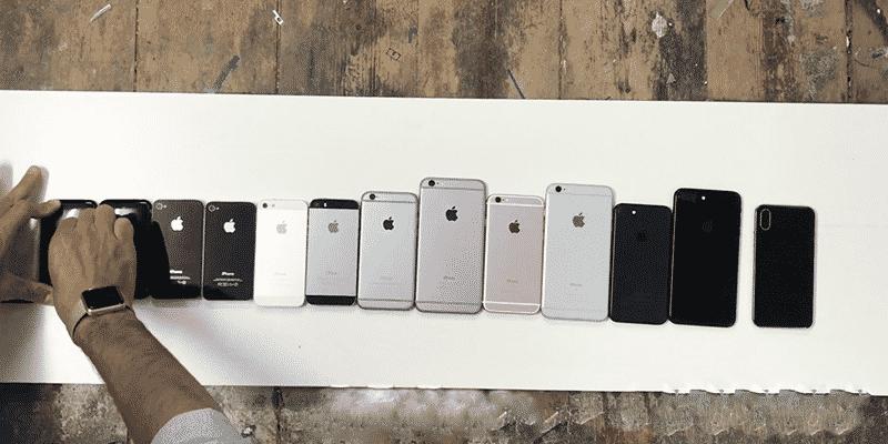 Dàn iPhone đọ dáng cùng iPhone 8