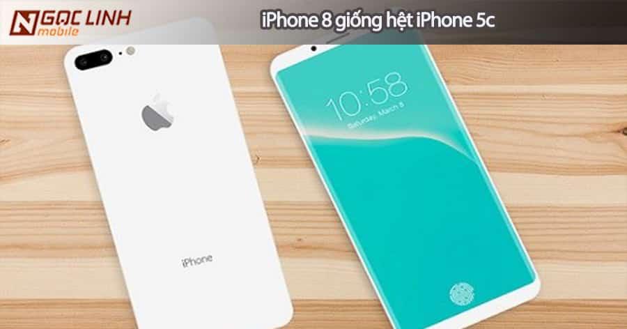 Apple bổ sung màu trắng khiến iPhone 8 giống hệt iPhone 5c