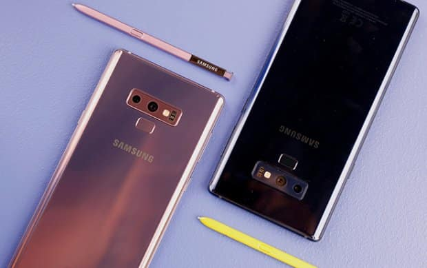 Note 9 ra mắt