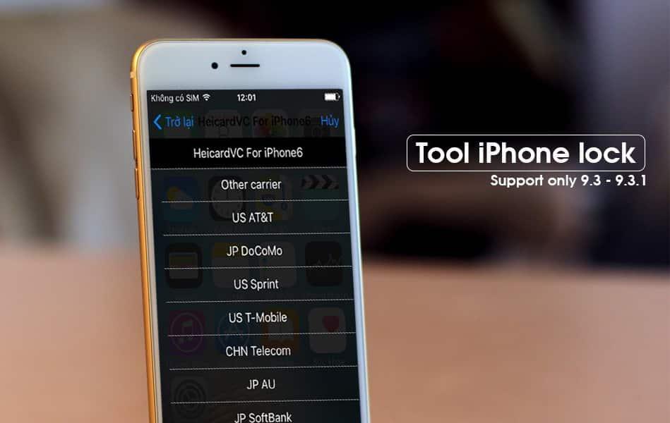 Nhận biết iPhone lock giả dạng quốc tế trong 1 nốt nhạc