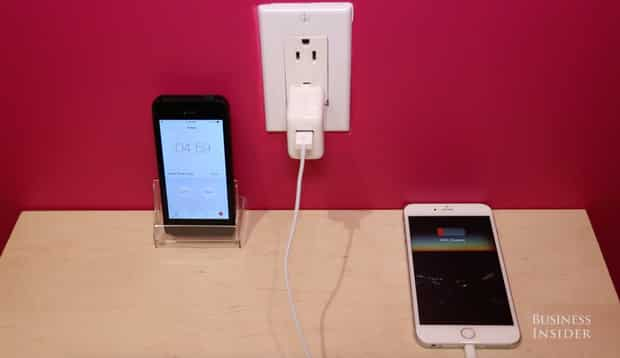iPhone, sạc chính hãng