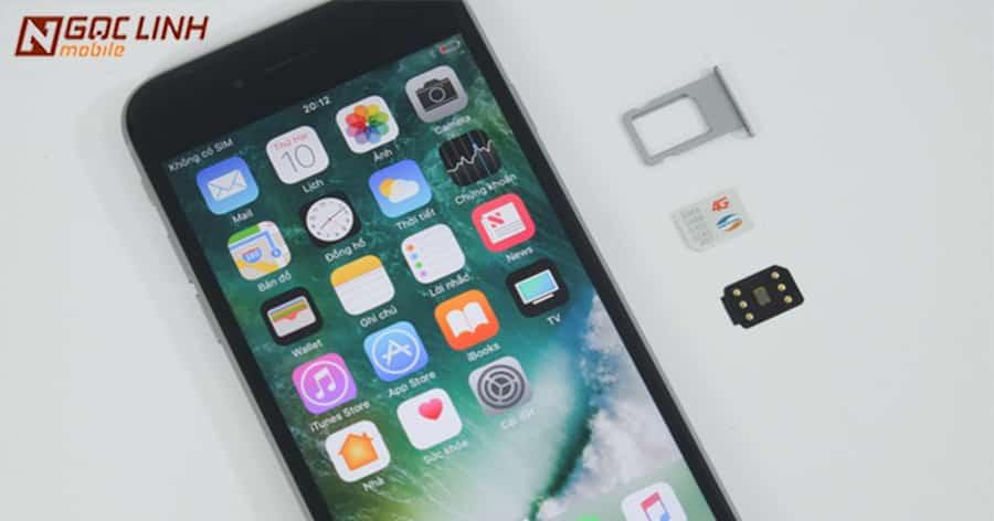 sim 4g thần thánh của iPhone lock sắp bị khoá