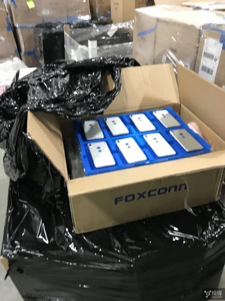 Lô máy được rò rỉ từ nhà Foxconn được coi là iphone 8